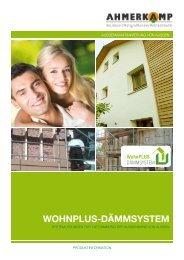 WohnPLUS außen Broschüre downloaden - Holz Ahmerkamp
