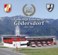 """Festschrift """"125 Jahre Freiwillige Feuerwehr Gödersdorf"""""""