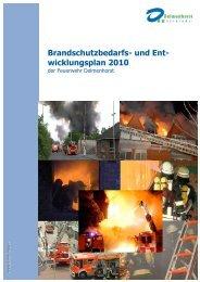 Brandschutzbedarfsplan - bei der Feuerwehr Delmenhorst