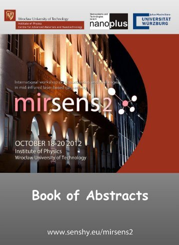 Download the Book of abstracts - SensHy