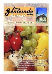 Gemeindebrief 174_01 - Evangelischer Kirchenbezirk Gaildorf