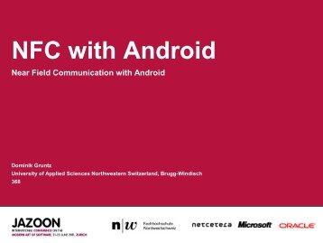 NFC with Android - Fachhochschule Nordwestschweiz