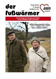 Heimzeitung Fusswärmer 02/2012 (.pdf-Dokument, 4625 kByte