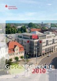 Geschäftsbericht Sparkasse Spree-Neiße 2010