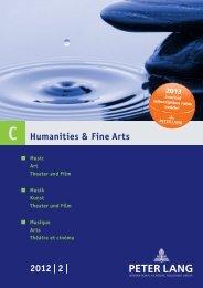 Humanities & Fine Arts 2012 | 2 | - Peter Lang