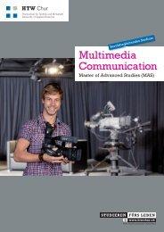 MAS in Multimedia Communication - HTW Chur