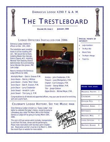 To see the instalation program damascus masonic lodge no 290 the trestleboard damascus masonic lodge no 290 pronofoot35fo Images