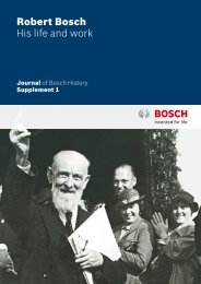 Robert Bosch His life and work - Bosch worldwide