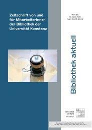 Heft 92_b.pdf - KOPS - Universität Konstanz
