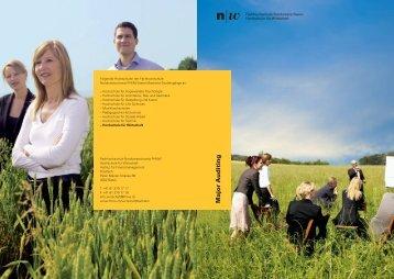 Hochschule für Wirtschaft - Fachhochschule Nordwestschweiz
