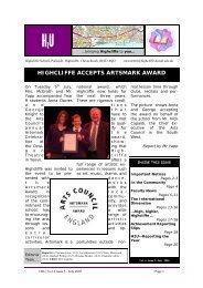 School Newsletter Volume 4 Edition 5.pdf - Highcliffe School