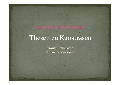 Thesen zu ... - Fksportbau.ch