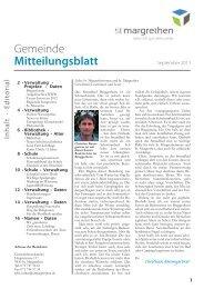 225-Mitteilungsblatt-09-11 [PDF, 14.0 MB] - St. Margrethen