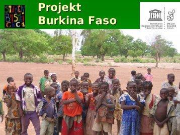 Projekt Burkina Faso - Stubenbastei