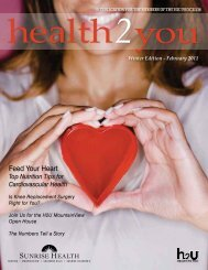 Winter Edition - February 2011 - Sunrise Health System