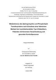 1 Einleitung - Universität zu Lübeck