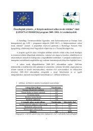 PDF anyag letöltése - Szikes Vízi Munkacsoport