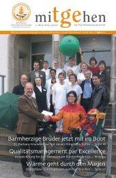 mitgehen Ausgabe 01/07 (PDF-Format) - TGE-Akademie