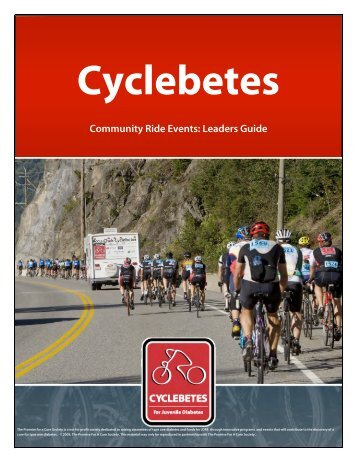 Cyclebetes Community Ride Events: Leaders Guide - TheFunTeam