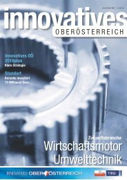 Download: Innovatives Oberösterreich 01/2010. - TMG