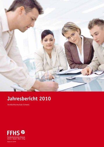 Jahresbericht 2010 - Fernfachhochschule Schweiz