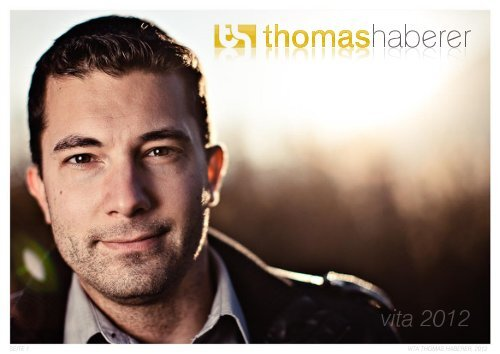 Thomas Haberer, Vita 2012 (PDF, 2476.1kb)