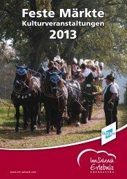 Veranstaltungskalender 2013 - Burghausen