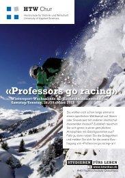 Professors go racing - HTW Chur