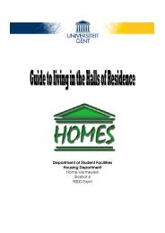 Halls of Residence Guide