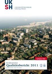 Qualitätsbericht 2011 Campus Kiel [PDF] - UKSH ...