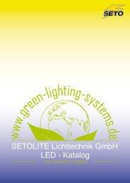 SETOLITE Lichttechnik GmbH LED - Katalog - Tinex