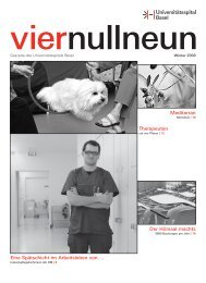 Fabian Fiechter - Universitätsspital Basel