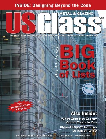 US Glass - March 2008 - USGlass Magazine
