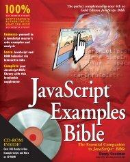 JavaScript Examples Bible - UserWorks Technologies