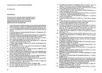 Bibliografie en jurisprudentieoverzicht (S.W.E. ... - Vereniging RIMO