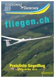 Preisliste Segelflug mai2012