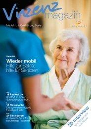Vinzenz magazin, Ausgabe 4/11 - Vinzenz Gruppe