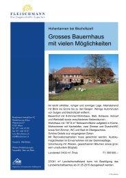 Objekt-Dokumentation im Pdf-Format - Fleischmann Immobilien AG