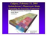 Saskatchewan's Phanerozoic Strata - Western Canada Sedimentary ...