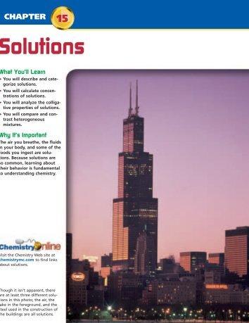 Chapter 15: Solutions - Weironline.net