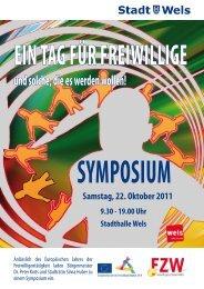 Symposium Freiwilligenarbeit - Stadt Wels