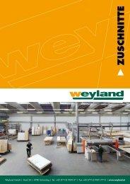 ZUSCHNITTE - Weyland GmbH