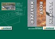 Weyland GmbH A-4780 Schärding Haid 26 Tel. +43(0)7712/9001-0 ...