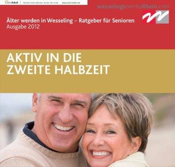 Älter werden in Wesseling 2012 - Stadt Wesseling