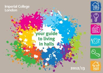 your guide to living in halls - Workspace - Imperial College London