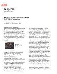 Advanced Flexible Dielectric Substrates for Kapton® FPC ... - DuPont