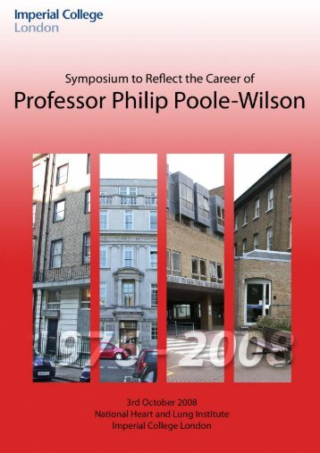 Prof Philip Poole-Wilson - Imperial College Faculty of Medicine ...