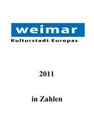 PDF Zahlen 2011 - Weimar