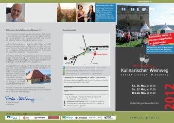 Weinweg Flyer (PDF, 889 KB) - Weinbau Zimmer