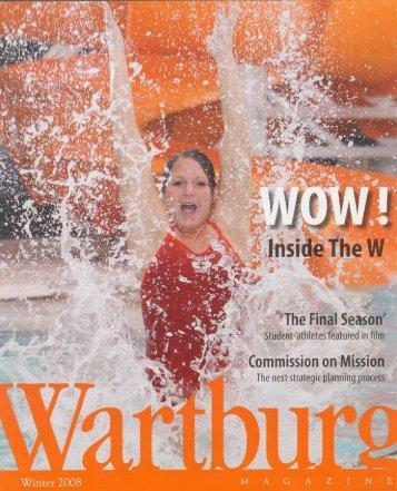 Winter 2008.pdf - Wartburg College